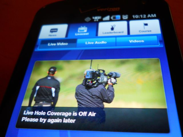 espn mobile and british open app fail at live video  audio
