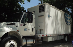 AT&T's Mobile DAS truck