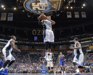 Orlando Magic in action at Amway Center. Credit: Orlando Magic