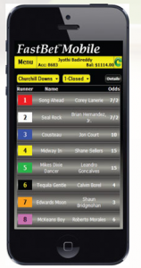 FastBet app screen shot