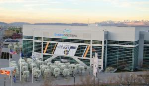 Energy Solutions Arena. Credit, all photos: Utah Jazz