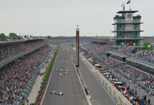 Indianapolis Motor Speedway, home of the Indy 500. Credit all photos: IMS Photo.