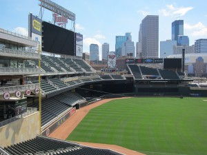 Target Field, the downtown home of the Minnesota Twins. Credit: Minnesota Twins