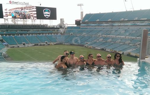 Party On At The EverBank Pools!