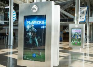 AT&T Stadium interactive screens