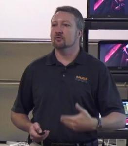 Chuck Lukaszewski, Aruba Networks