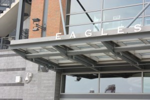 Wi-Fi gear on the exterior of Lincoln Financial Field. Credit all photos: Philadelphia Eagles