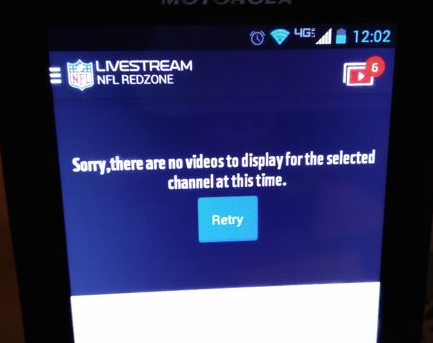 Verizon, NFL fumble opening-day live video for NFL Mobile