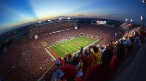 Memorial Stadium, University of Nebraska. Credit all photos: University of Nebraska.