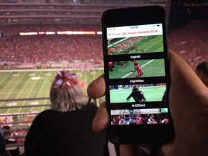 A look at video options in the Husker app