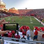 Using the app at Memorial Stadium