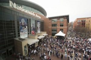 Nationwide Arena. Photos Credit: Columbus Blue Jackets
