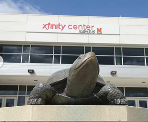 Xfinity Center, home of University of Maryland basketball. Credit all photos: University of Maryland website