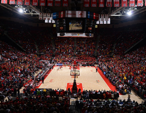 Xfinity Center indoors