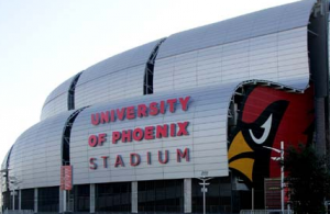 University of Phoenix Stadium. Credit all photos: Arizona Cardinals.