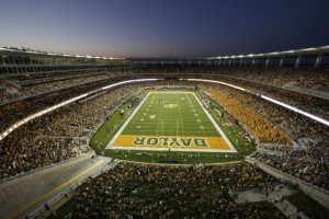 McLane Stadium, Baylor University. Credit all photos: Baylor University