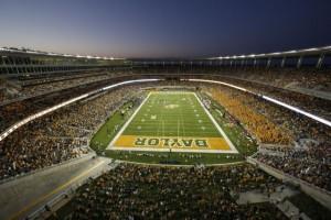 McLane Stadium, Baylor University. Credit all photos: Baylor University