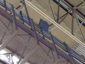 Wi-Fi antenna in roof rafters
