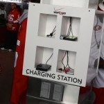 Full charging station... before the game starts