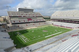 Kyle Field, Texas A&M University. Credit all photos: Texas A&M