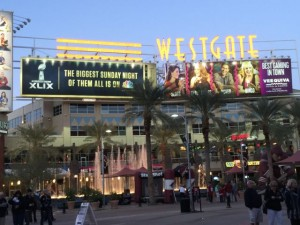 The Westgate uber-mall should see a lot of fan activity (and connectivity) on game day