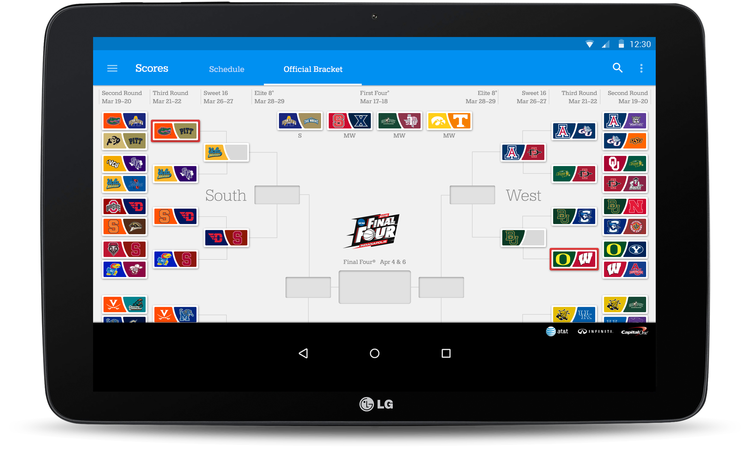 basketball games for tablet online