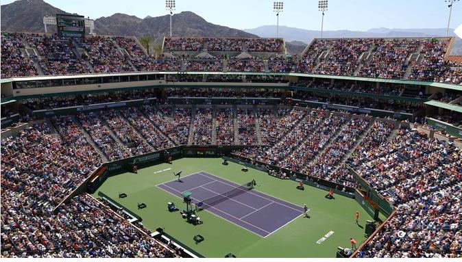 Stadium Tech Report Indian Wells Tennis Garden Serves Up