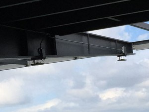 Wi-Fi APs attached to roof beams