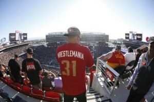 WrestleMania 31 at Levi's Stadium, March 29, 2015. Credit all images: 49ers.com (click on any photo for a larger image)