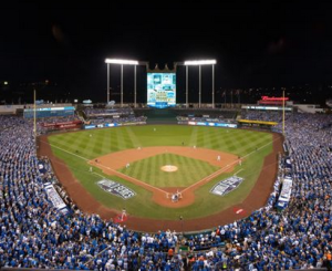 Kauffman Stadium during 2015 World Series