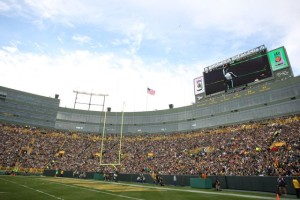 Lambeau Field, home of the Green Bay Packers, now has Wi-Fi for fans. All photos: Green Bay Packers (click on any photo for a larger image)