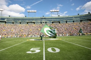 Wave the flag, Wi-Fi has come to Lambeau Field! Photos: Green Bay Packers