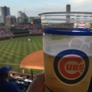 Cubs fans know how to enjoy a day at the park. Photo: Lisa Farrell, MSR