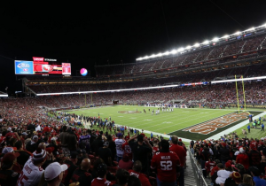 Levi's Stadium during its inaugural Monday Night Football game. Photo: Levi's Stadium