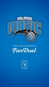 Screenshot of new Orlando Magic stadium app built by VenueNext