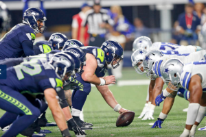 Seahawks vs. Cowboys at AT&T Stadium, Nov. 1. Photo: Dallas Cowboys