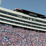 The University of Kansas' Memorial Stadium