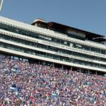 The University of Kansas' Memorial Stadium