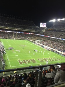 Full house at Kyle Field. Photo: Paul Kapustka, MSR