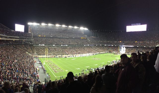 Kyle Field at kickoff.
