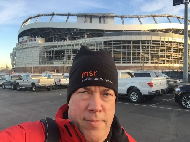 MSR on the scene at Sports Authority Field at Mile High in January