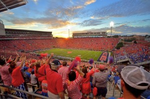 Game day at Vaught-Hemingway Stadium. All photos: Joshua McCoy/Ole Miss Athletics (click on any photo for a larger image)