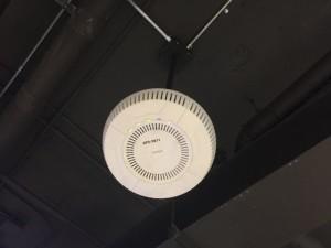Avaya Wi-Fi AP on an overhead mount