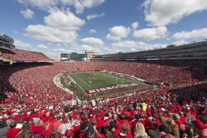 Camp Randall Stadium, University of Wisconsin. Photo: Dave Stluka