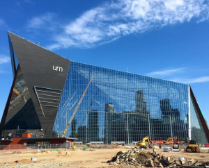 Outside view of U.S. Bank Stadium in Minneapolis. Photo: USBankStadium.com.