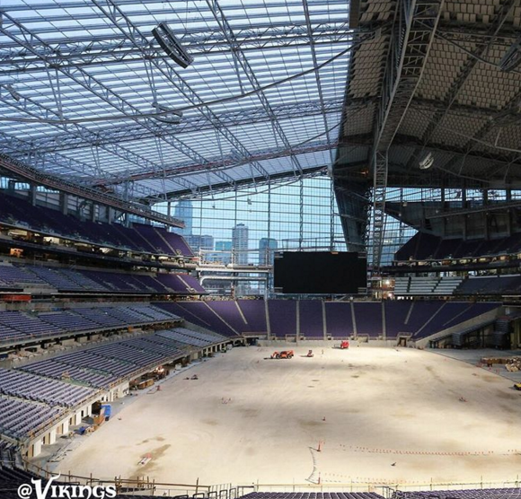 Interior look at U.S. Bank Stadium. Photo: USBankStadium.com