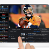 Screen shot of DirecTV Sunday Ticket app for iPad