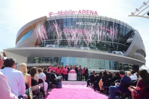 T-Mobile Arena, Las Vegas, on the official April 6 opening. All photos: Cox Business (click on any photo for a larger image)
