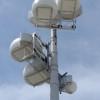 """AT&T's new """"drum"""" antennas at Coachella. Photos: AT&T."""