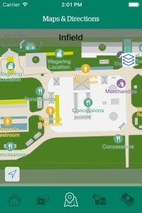 Wayfinding map screenshot